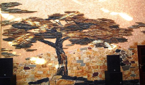 дизайн интерьера с использованием искусственного камня
