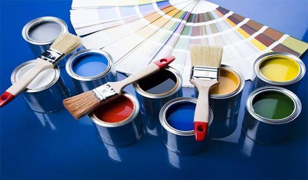 варианты оттенков краски