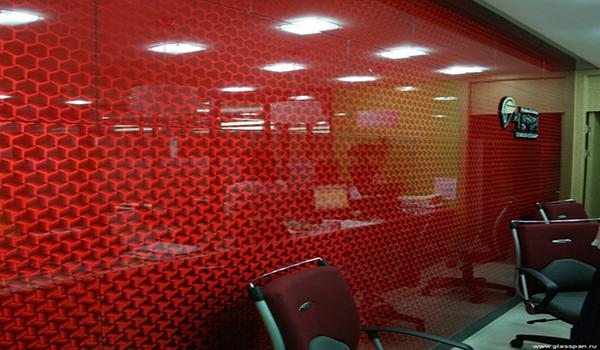 оформление офиса стеклянными панелями