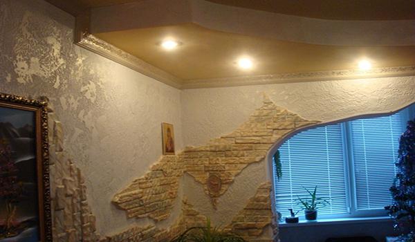 создание композиций с помощью декоративного камня
