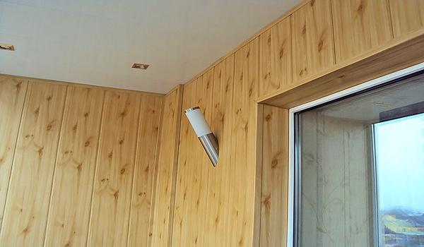 вывод светильников в мдф панелях