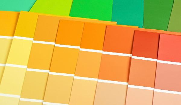 образцы оттенков краски