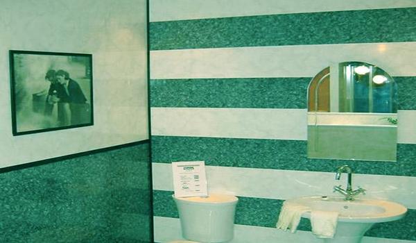 ванная облицованная панелями из ПВХ