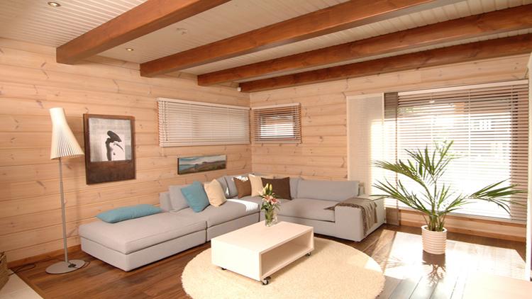 Отделка стен в деревянном доме фото