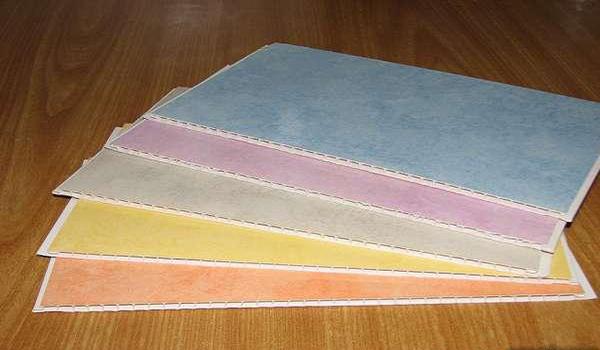 разные расцветки ПВХ панелей