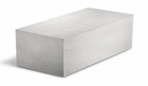 тип газобетонного блока с плоскими гранями