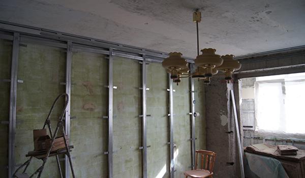 утепление внутренних стен в квартире