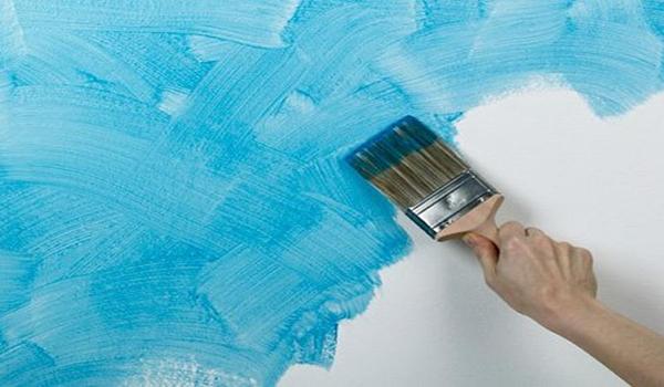 малярные работы текстурной краской
