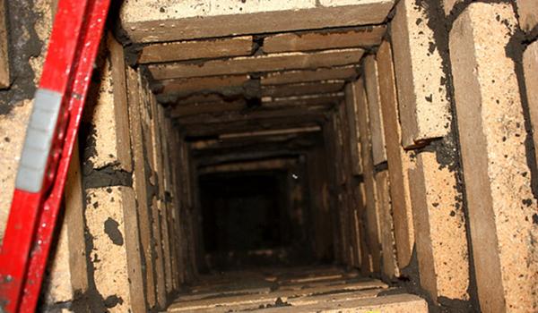 шахта естественной вентиляции