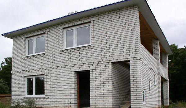 дом из силикатных блоков