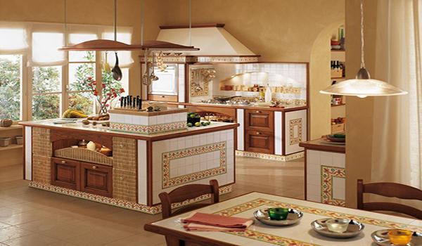 средиземноморский стиль оформления кухни