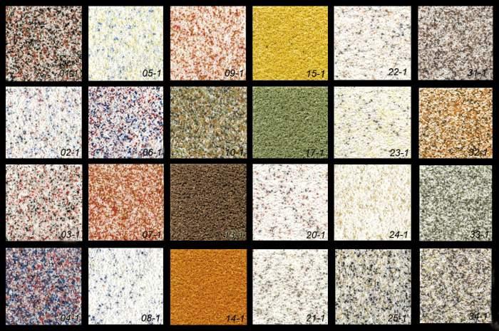 разновидность и цвета мраморной крашки