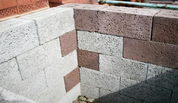 технология кладки стены из керамзитобетона