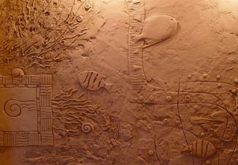 Создаем рельефные стены своими руками с помощью штукатурки