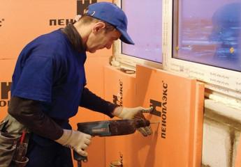 Технология утепления стен пеноплексом своими руками
