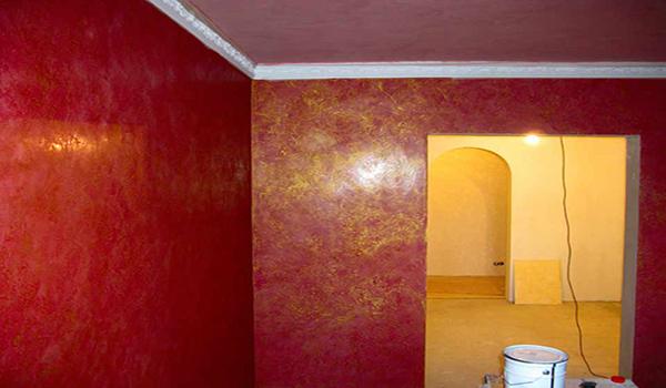 пример декора стен марокканской облицовкой