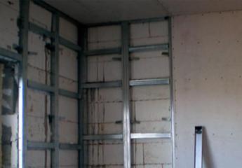 Утепление стен гипсокартоном изнутри – делаем пошагово