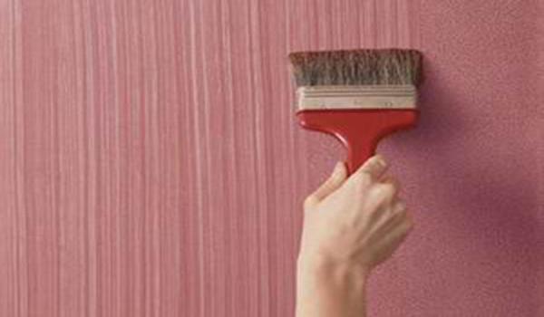 покрытие стены текстурной краской