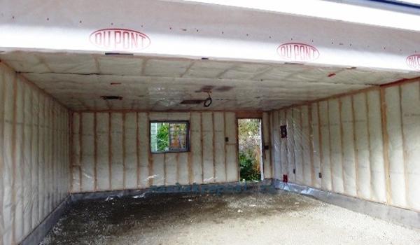 утепление внутренних стен гаража минеральной ватой