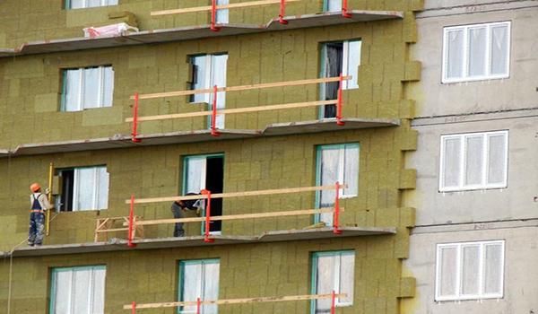 утепление многоэтажки минеральной ватой