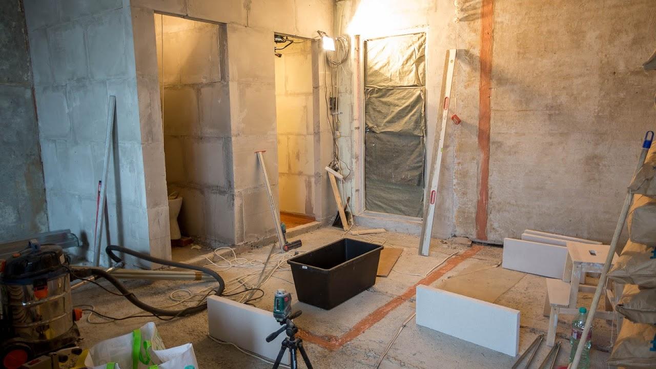 процесс высыхания грунтовки на стене