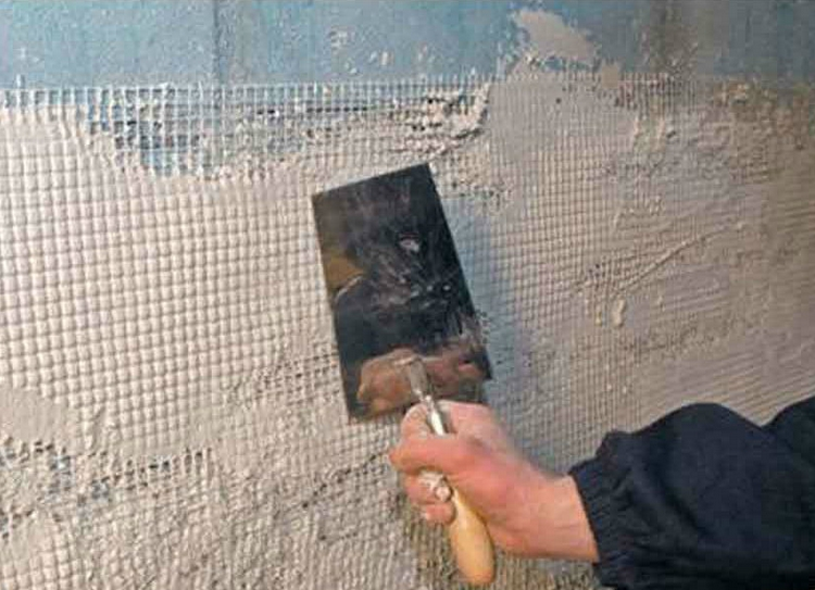 подготовительный этап штукатурки стен из газобетона