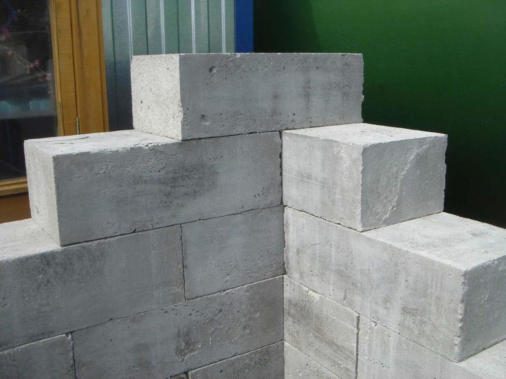 стена из пеноблоков