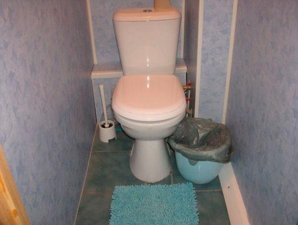 пвх панели в туалете