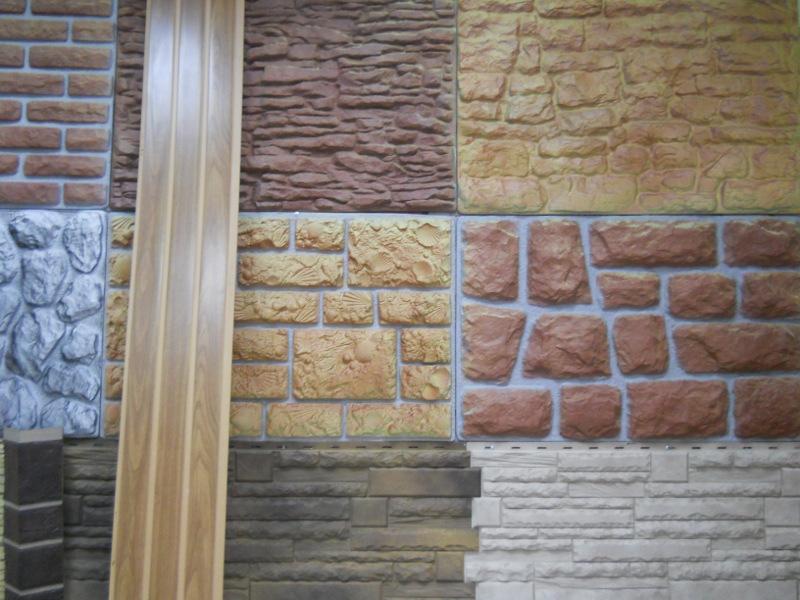 разновидность панелей под камень