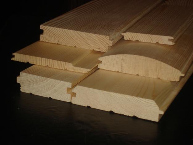 вагонка из дерева для обделки стен в предбаннике