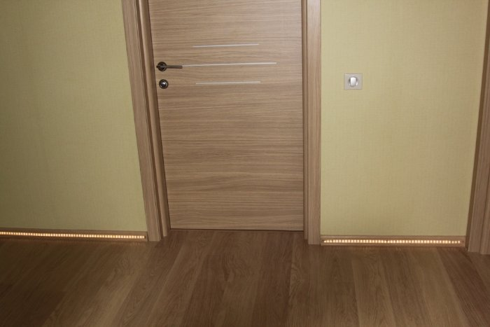 Межкомнатная дверь, покрытая ламинатом