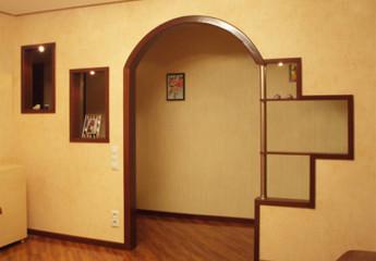 Варианты дизайна арки в коридоре