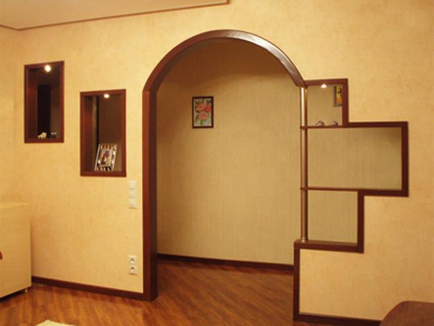 Интересный дизайн арки фото