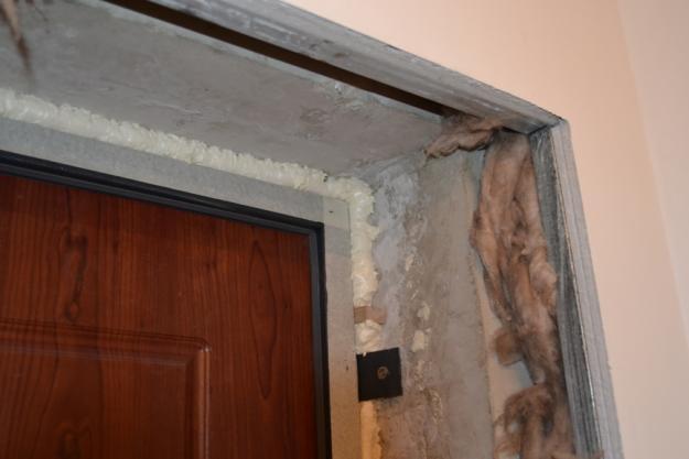 Входная дверь без откоса