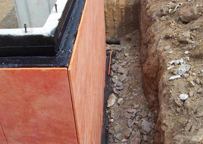 Утепление цоколя дома пеноплексом