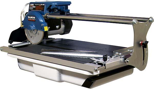 Электрический станок для резки плитки Elmos