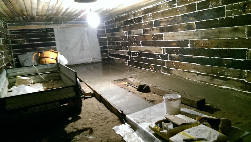 строительство гаража из шпал фото престол, которая проходит