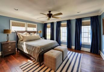 Отделка спальни: выбор материалов, цвета, освещения