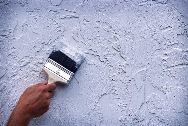 Варианты отделки стен. Декоративная штукатурка