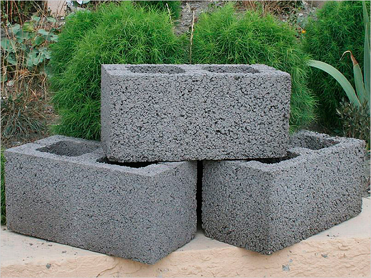 Керамзитобетонные блоки для постройки гаража