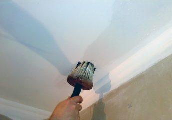Нужна ли грунтовка для потолка под покраску водоэмульсионной краской