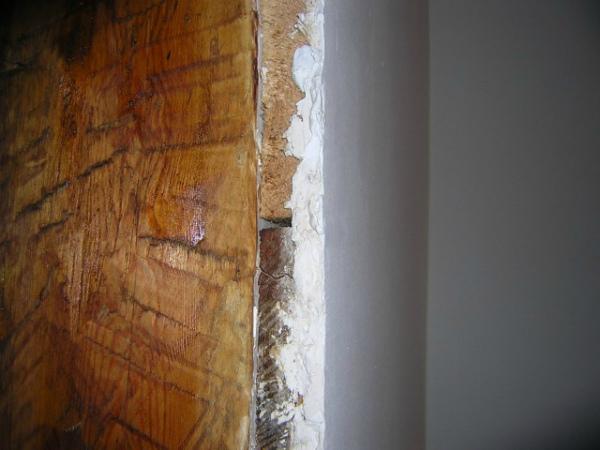 Защита штукатуркой деревянного бруса