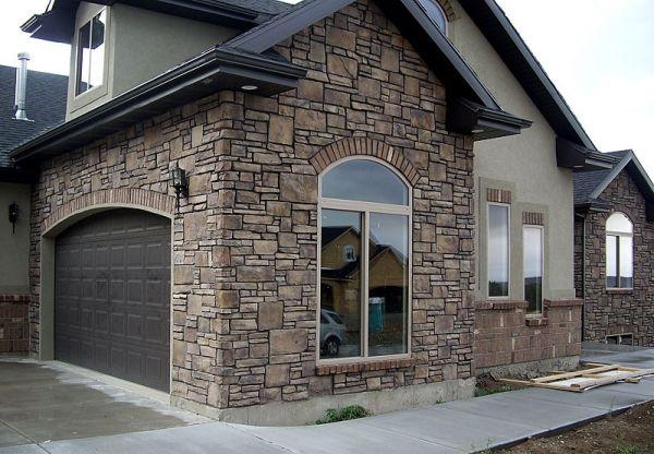 Натуральный камень в облицовке фасадов