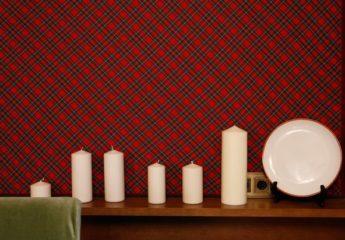 Технология отделки и драпировки стен тканью