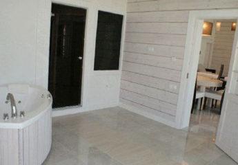 Правила покраски деревянных стен внутри частного дома или коттеджа