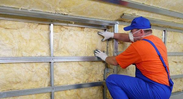 Утепление бетонной стены с помощью термопанелей