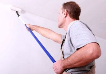 Как правильно выполнить побелку стен