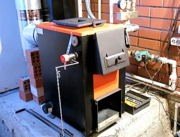 Самодельный теплогенератор для отопления дачного домика